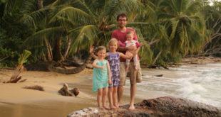 Familie Schubert an der Karibikküste, © Michael Schubert - www.costarica-film.de
